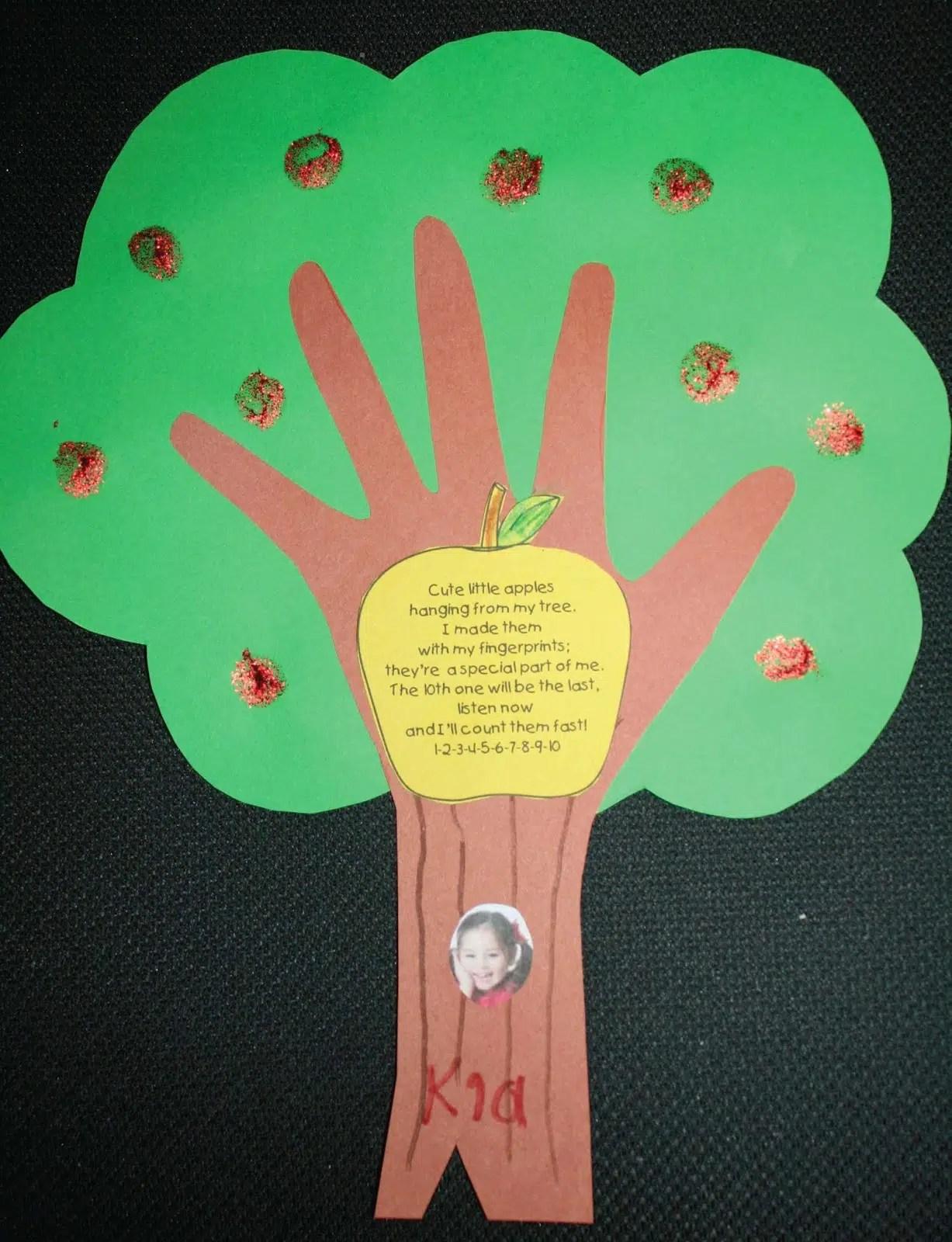 Keepsake Apple Tree Craftivity