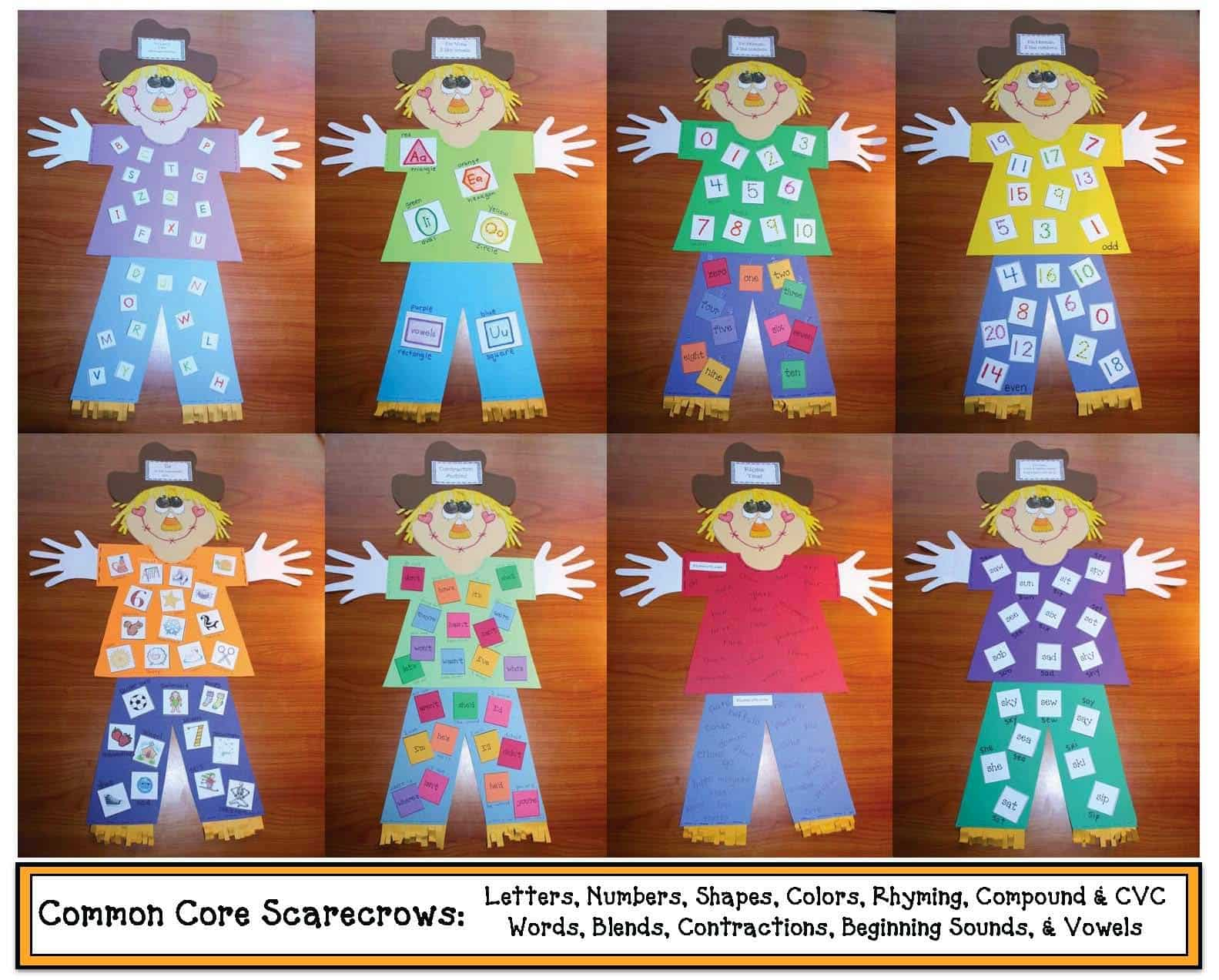 Common Core Scarecrows