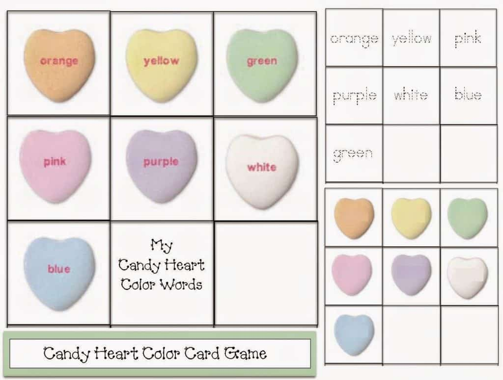 February Fun With Candy Conversation Hearts