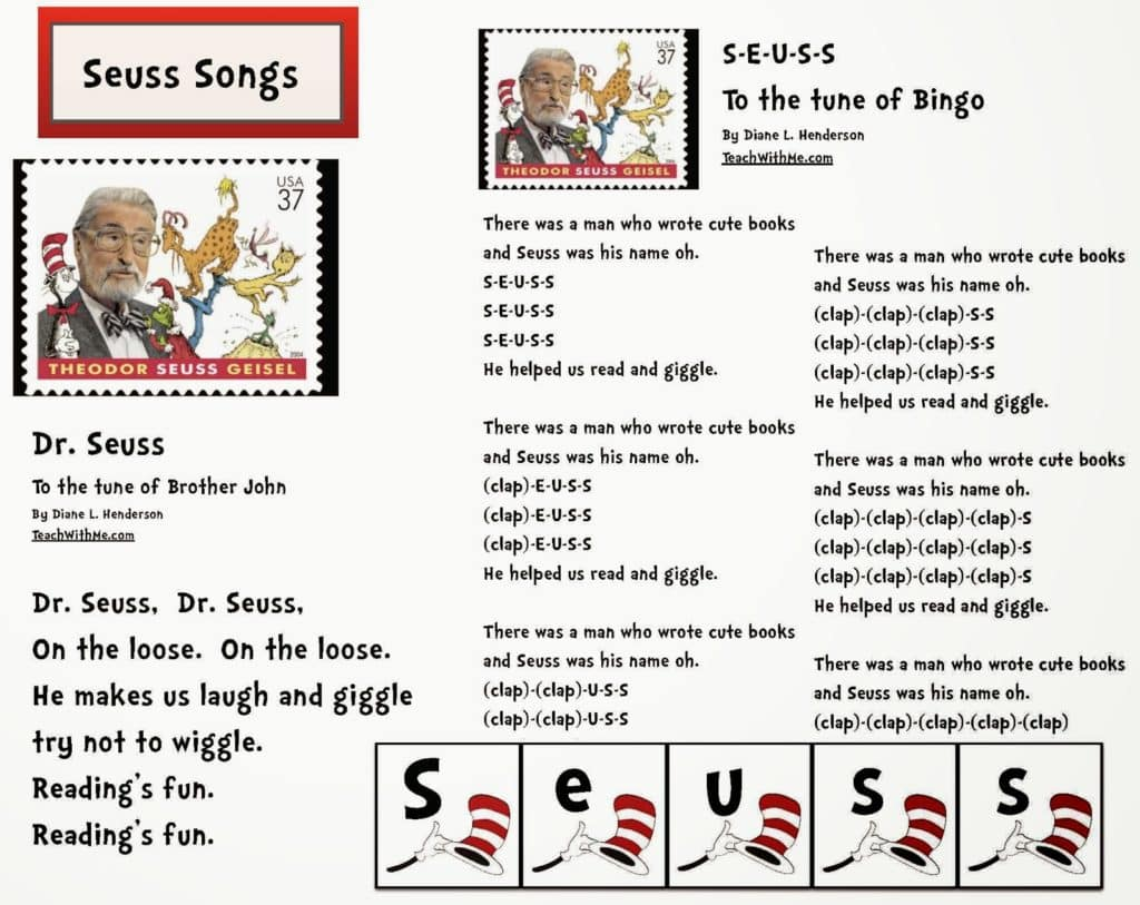 Worksheet For Preschoolers Dr Seuss Green Eggs And Ham