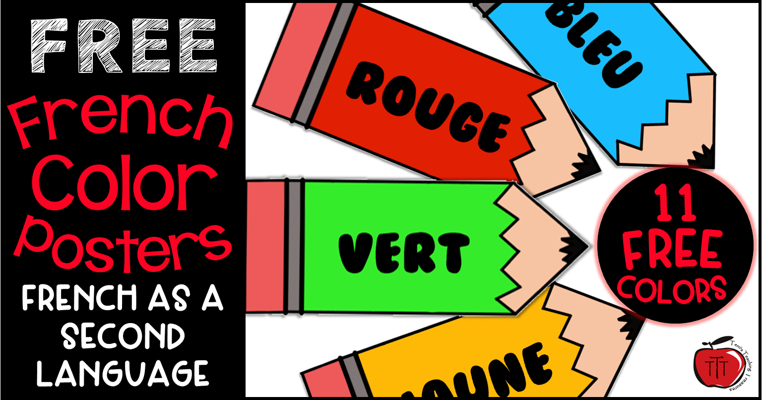 Free French Color Reference Signs