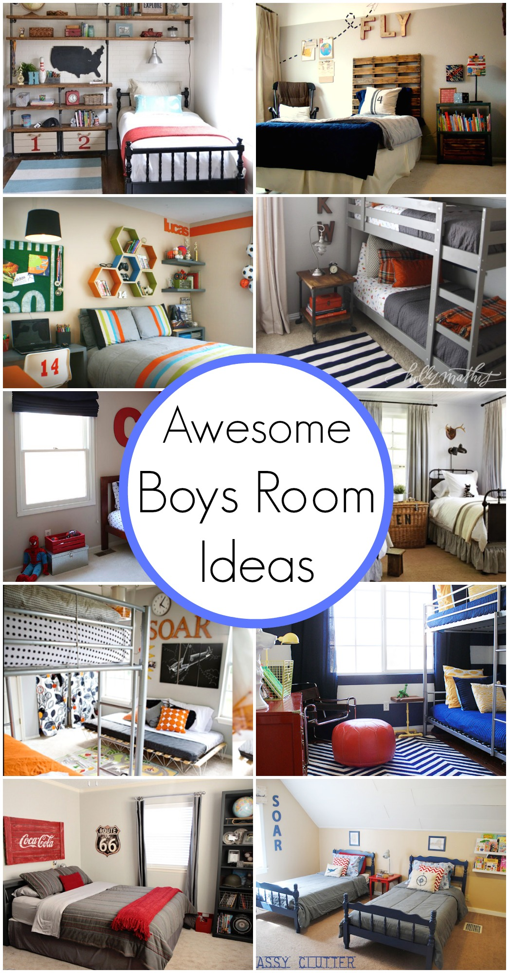 10 Awesome Boy's Bedroom Ideas - Classy Clutter on Awesome Ideas  id=74036