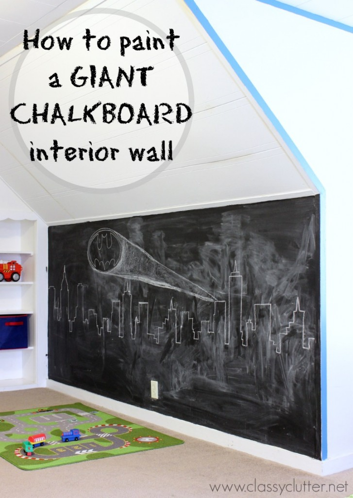 What I Wish I Knew About Making Chalkboard Wall Classy Clutter