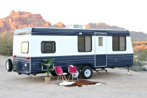 Travel Trailer Redo How To Paint A Travel Trailer Classy