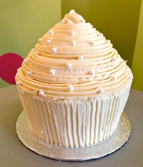 Giant Cupcake Cake Classy Girl Cupcakes