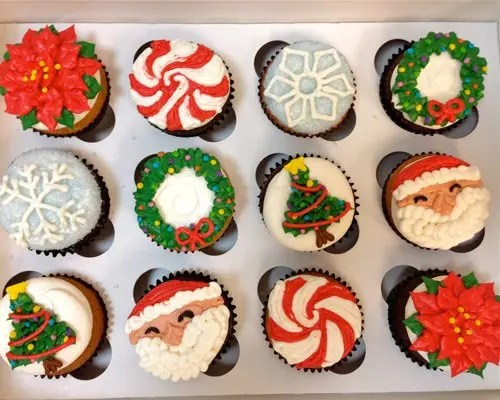 Christmas Cupcakes Classy Girl Cupcakes