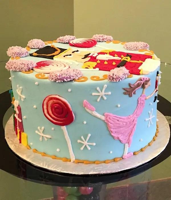Nutcracker Layer Cake Classy Girl Cupcakes
