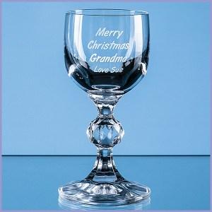 Engraved Port & Sherry Glasses