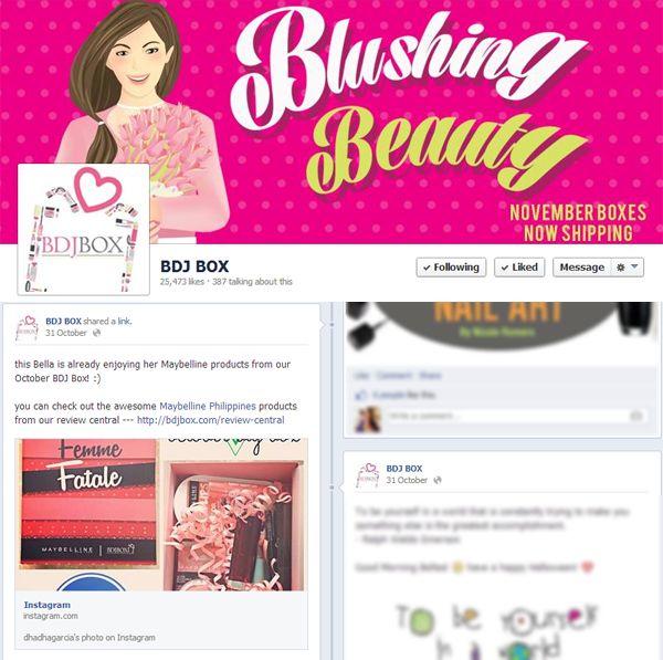 Press: Featured at BDJ Box | Facebook
