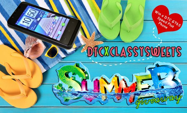 DTC x Classy Sweets Summer Giveaway