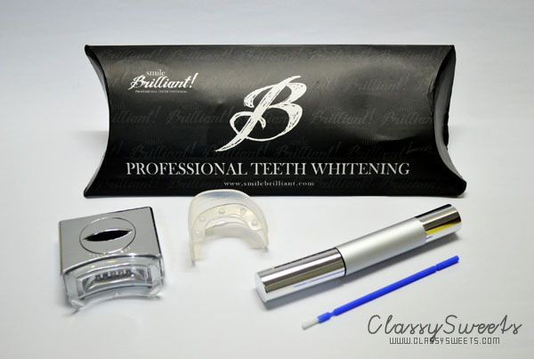 Smile Brilliant's LED Teeth Whitening Kit