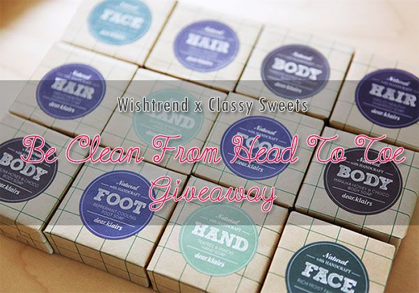 Win A Klairs - Be Clean Natural Soap From Wishtrend