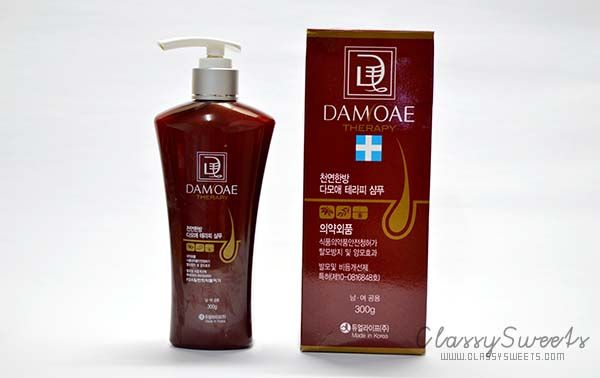 Damoae Therapy Shampoo And Therapy Tonic
