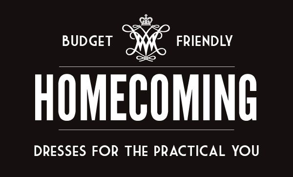 Budget-Friendly Homecoming Dresses For The Practical You