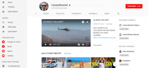 Youtube Feature Video