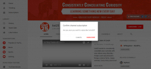 Youtube Video Subscription Link