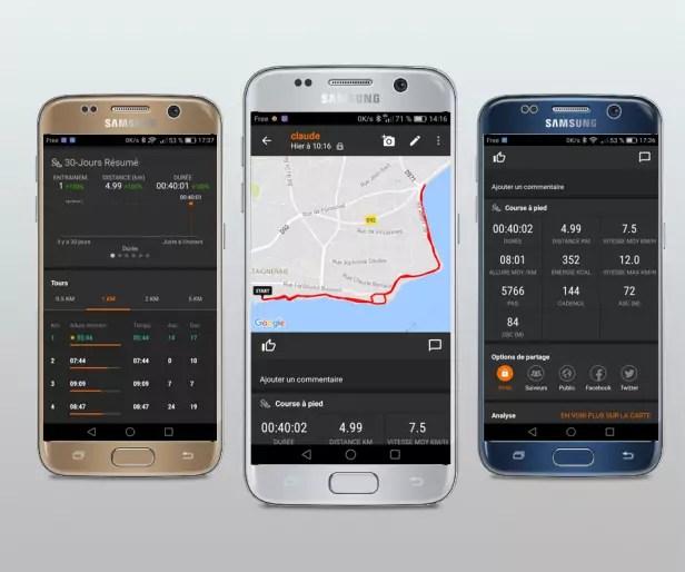 Sport Tracker l'application running mobile