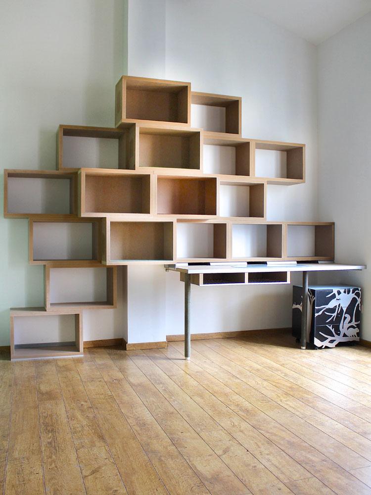 Bibliothque Bureau Variation 17 Design Claude Jouany