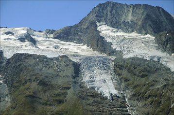 Glaciers du Mont Pourri, fin aout