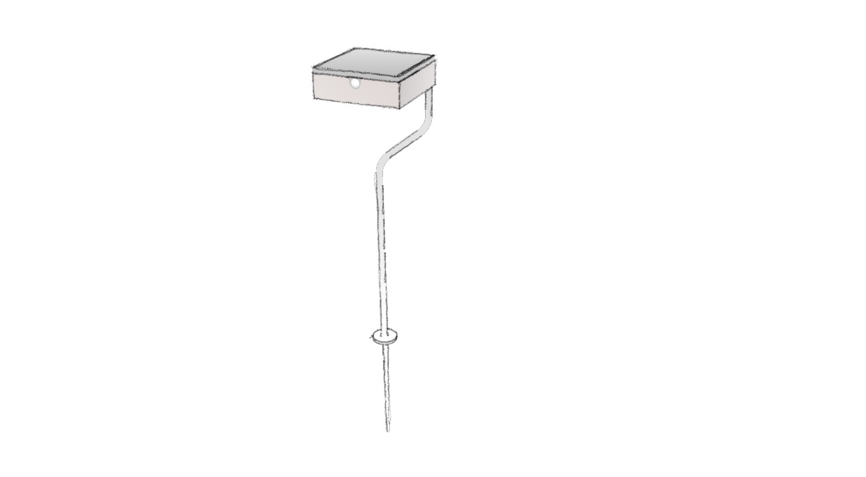 Borne extérieure solaire au design moderne, idéale pour le balisage de chemins, le balisage d'allées, l'éclairage de jardin. La borne extérieure solaire TEE est équipée d'un détecteur de présence. Elle diffuse un éclairage performant et une lumière chaude. TEE est une lampe solaire d'extérieur autonome équipée d'un capteur solaire puissant. Les lampes solaires extérieures LYX Luminaires sont de fabrication française.