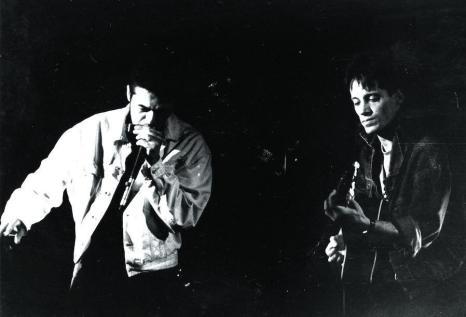 Eric Chatalic Claude Ziegler Mojo Hands Brest 1994