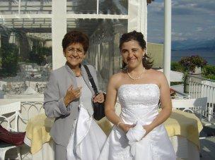 Ana Dilia Rivera de Aufdereggen mit Tochter Claudia Cristina