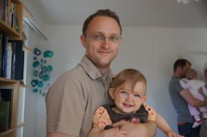 Mathias und Laura Maria an unserer Open House Party Herrliberg