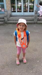 Laura Marias erster Tag im Kindergraten