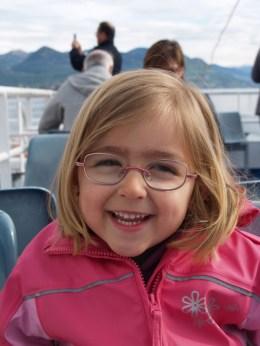 Laura Maria am Hafen von Stresa