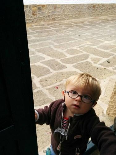 Lucas in Villa de Leyva