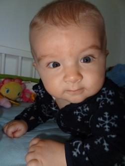Lucas David 6 Monate alt