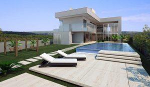 Casa contemporânea – 380 m2 - Claudia Bartelle