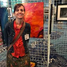 at the Culver City Art Group annual show in Playa Vista 2016