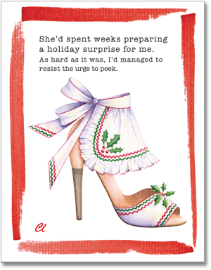 Claudia Lynch ShoeStories Christmas Cards