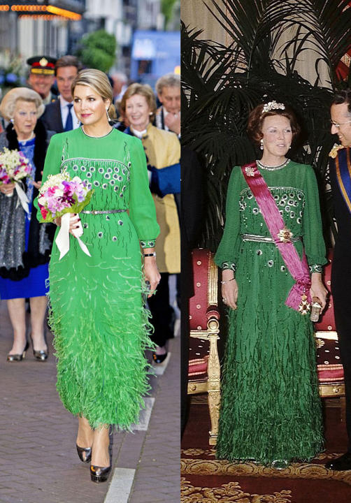 Queen+Maxima+Green+dress_claudiamatarazzo