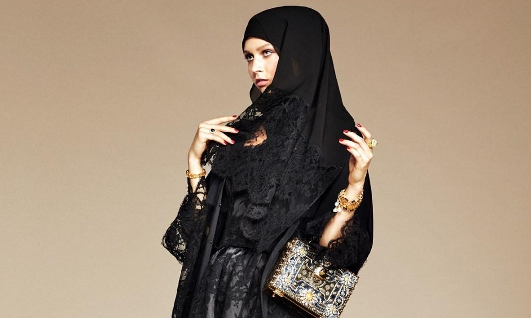 De olho em consumidoras que conhecem pouca crise a grief italiana italiana de luxo Dolce a Gabbana lançou a sua primeira coleção para mulheres muçulmanas.