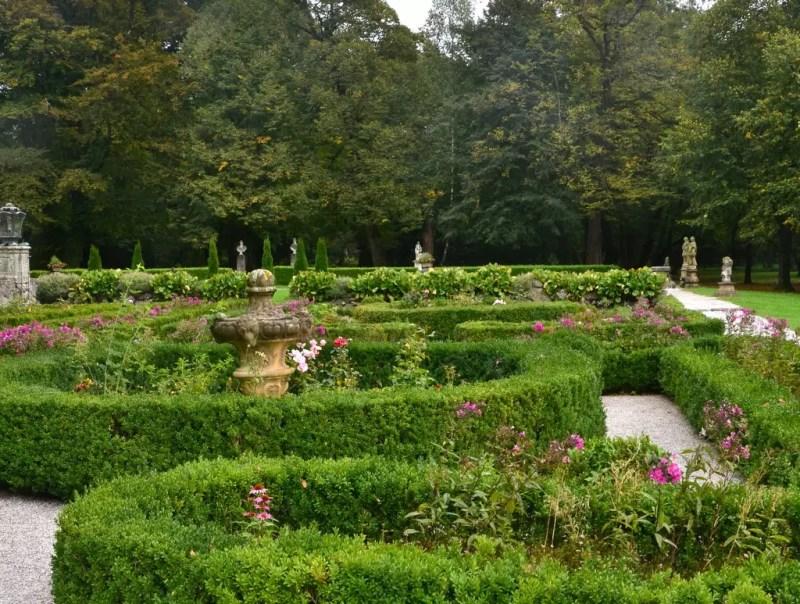 Garten Schloss Leopoldskron