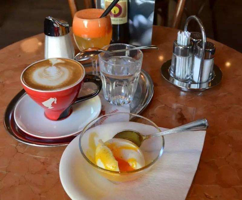 Café Classic Ei im Glas