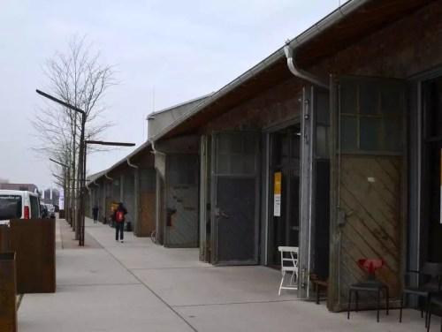 Panzerhalle Vorplatz