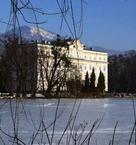 Schloss Leopldskron im Winter