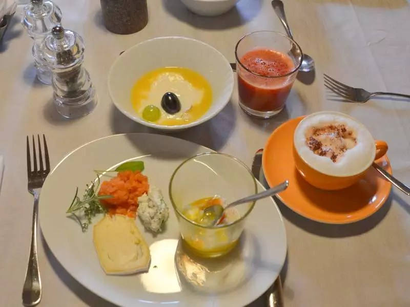 Frühstück Arosea