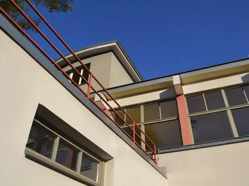 Terrasse Haus des Volkes in Probstzella