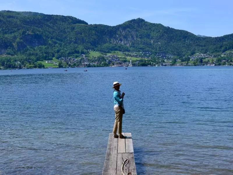 Badesteg in Fürberg
