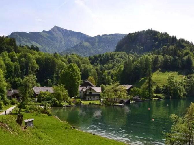 Bucht am Wolfgangsee, Brunnwinkl