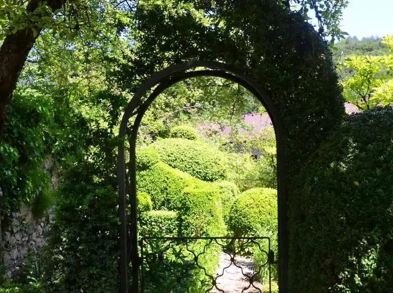 Garteneingang Sankt Jakob am Thurn