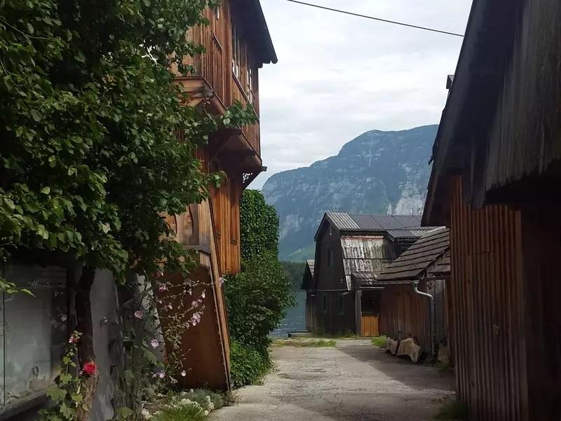 Blick zum See Hallstatt
