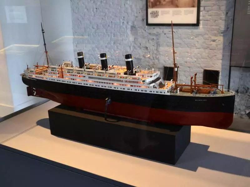 Schiff im Red Star Line Museum