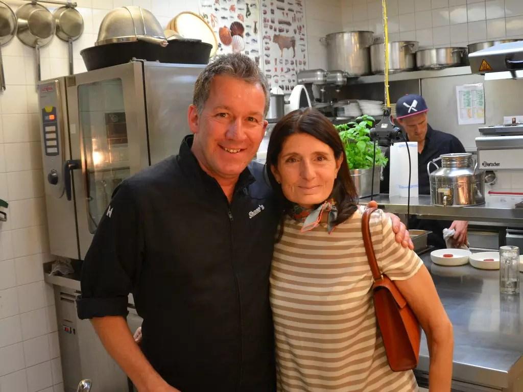 Restaurant Shane's in München Shane McMahon Claudia Braunstein