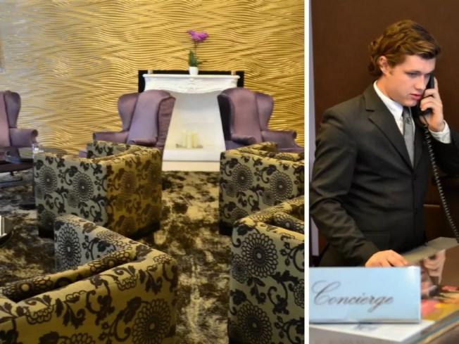 Schön, dass es im Steigenberger Herrenhof einen Concierge gibt; Kulturtipp Albertina