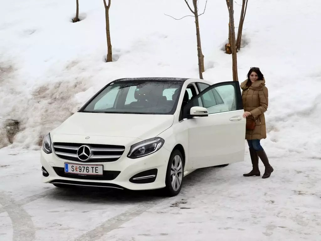 Auf der Suche nach einem neuen Auto; Mercedes B 180d